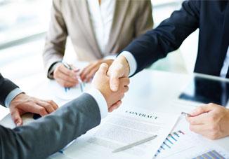یک شرکت طراحی سایت خوب یک بخش فروش منظم و حرفه ای دارد